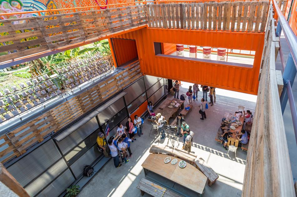 城市探險團-人文建築之旅-貨櫃屋