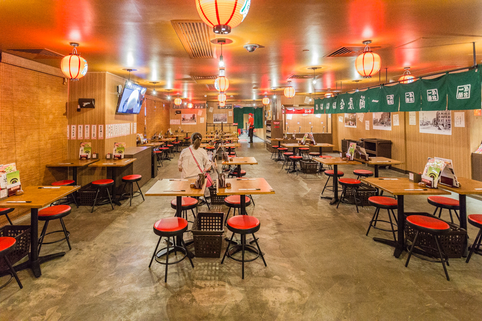 香港美食-一蘭拉麵