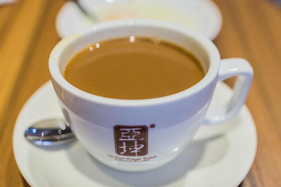 香港美食 - 尖沙咀亞坤吐司咖啡