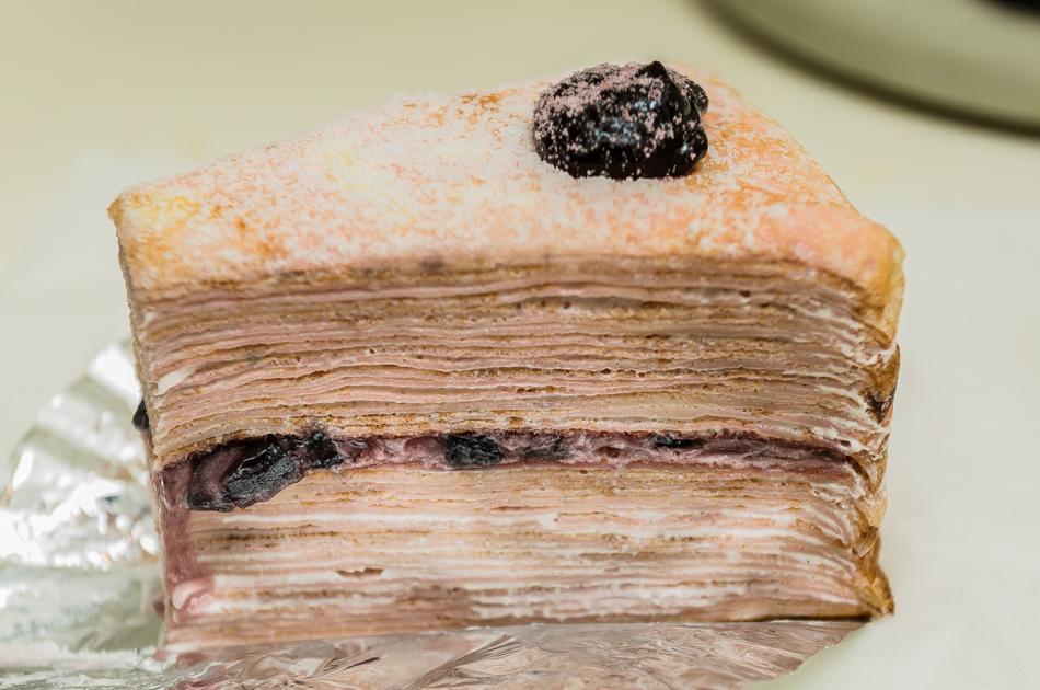 神秘千層蛋糕