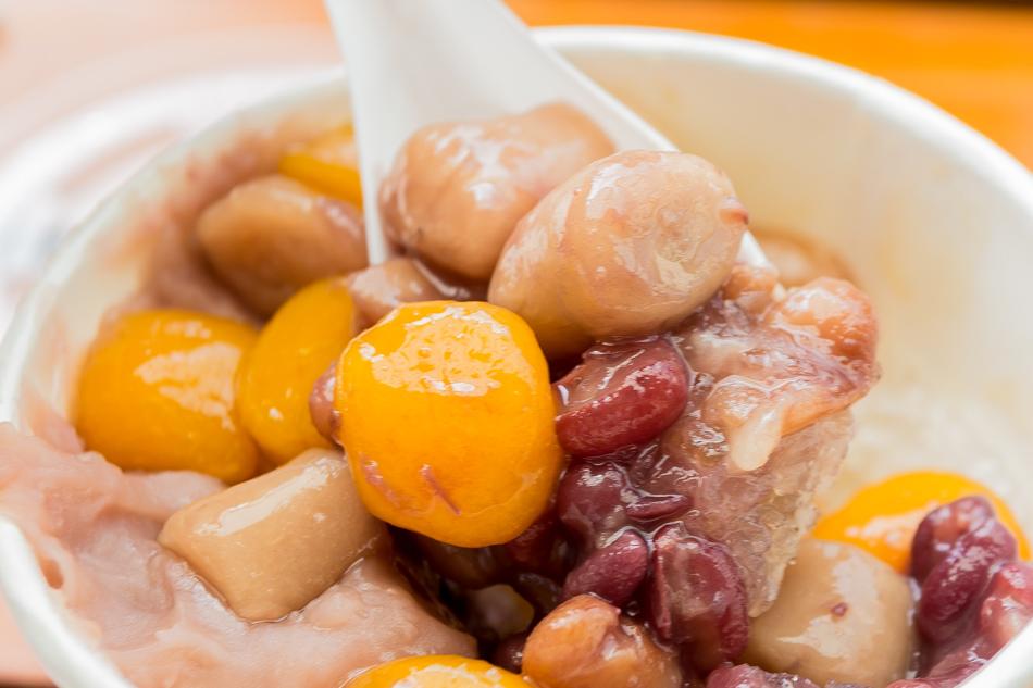 台中美食 - 東東芋圓一號餐-45元