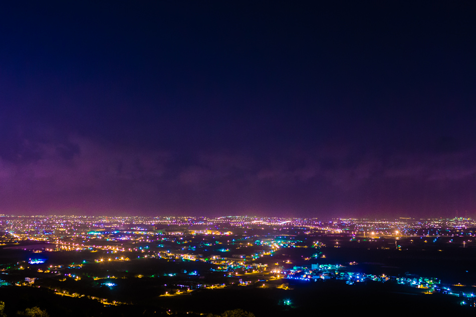 高雄旅遊 - 高雄夜景 - 屋頂