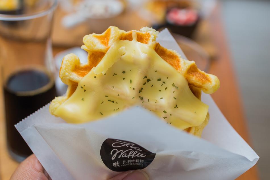 鳥松美食-啾比利時鬆餅