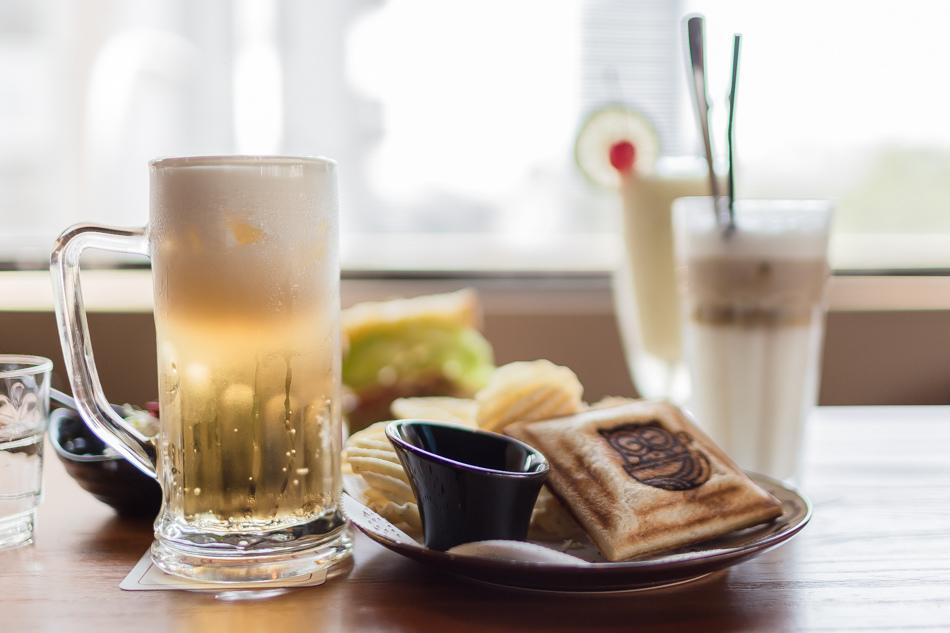 鳳山美食-貓頭鷹復刻咖啡