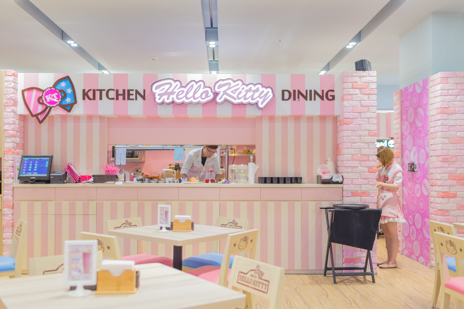 台南美食-南紡夢時代Hello Kitty Kitchen and dining