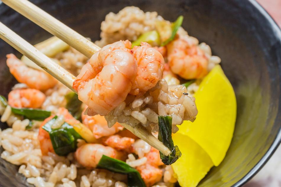 台南美食 - 集品蝦仁飯