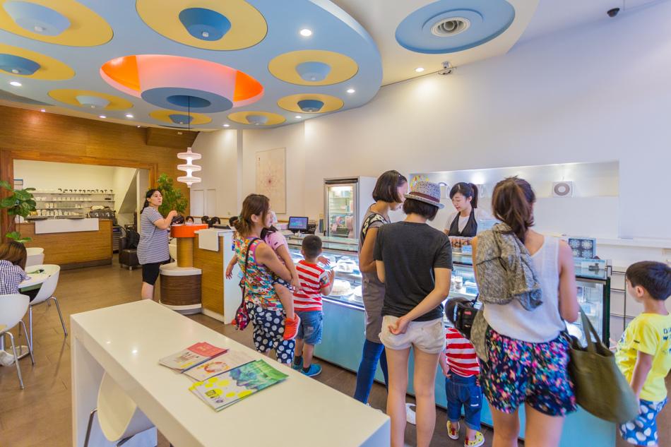 台南美食-深藍咖啡館