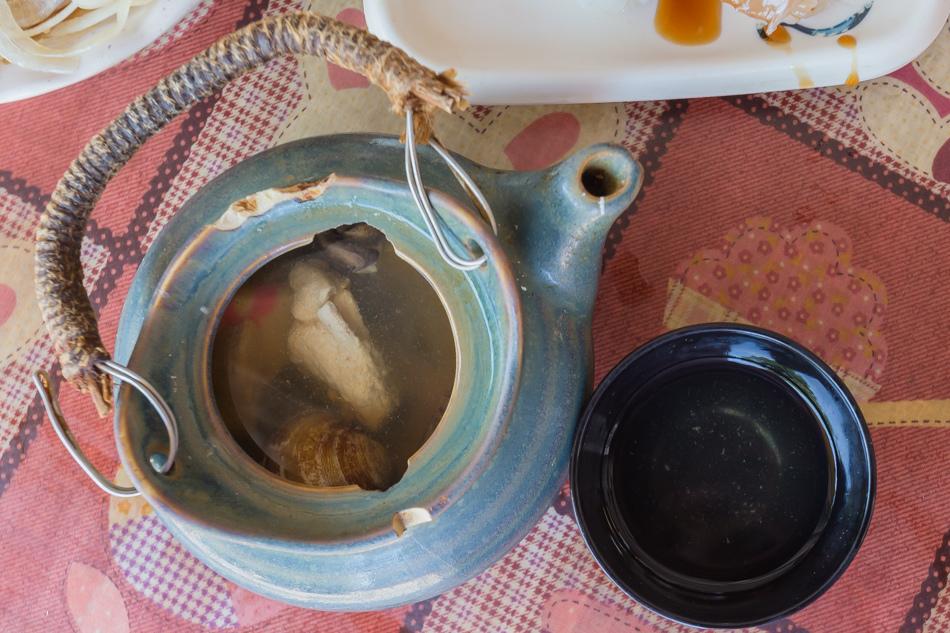 台南美食 - 山根壽司與兩角銀冬瓜茶
