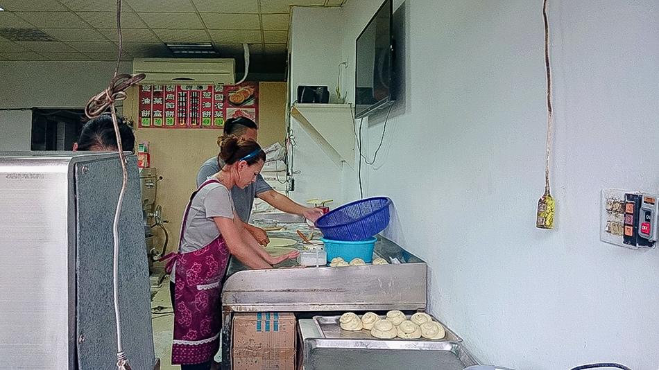 左營果貿社區道地蔥油餅