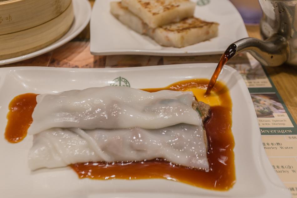 台中美食 - 添好運大遠百店 - 黃沙豬潤腸