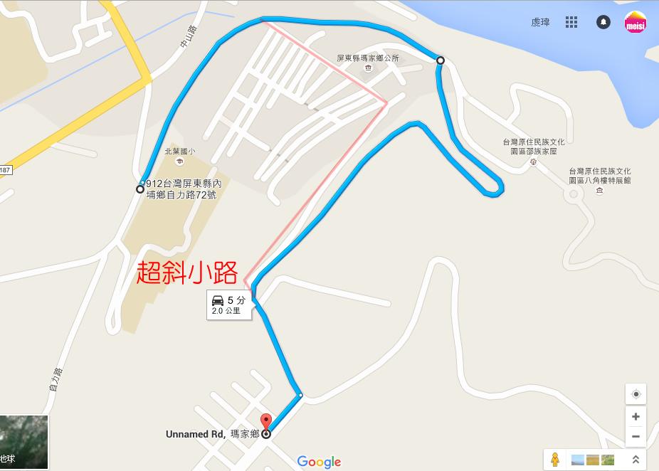 禮納里地圖