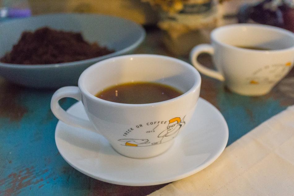 萬聖咖啡節 - 不給咖啡就搗蛋 - 植民