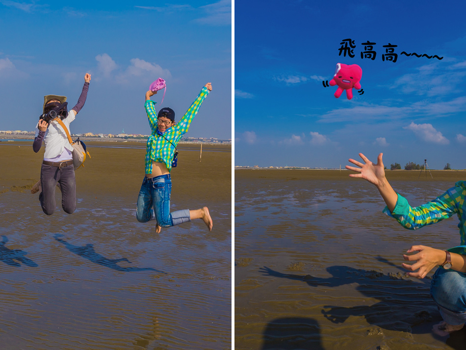 雲嘉南濱海線旅遊(一) - 外傘頂洲