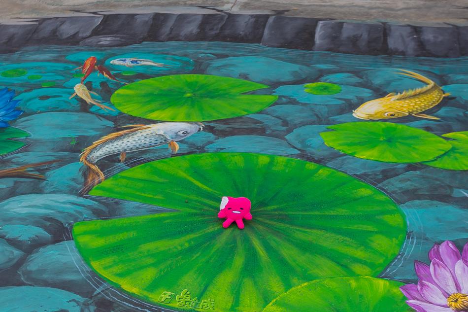 雲嘉南濱海線旅遊 - 好美里3D藝術彩繪
