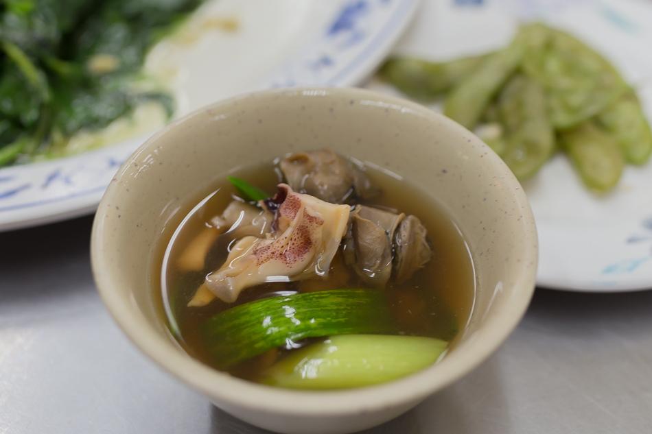阿美海產店魷魚螺肉蒜