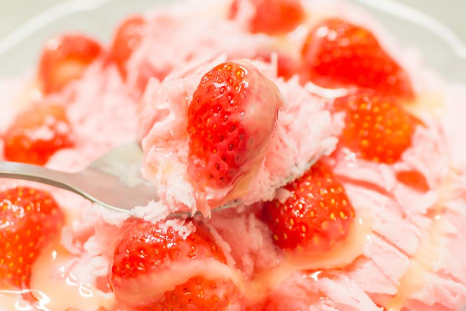 福泉草莓雪花冰