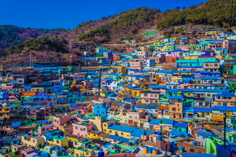 2016韓國釜山自由行 - 甘川文化村