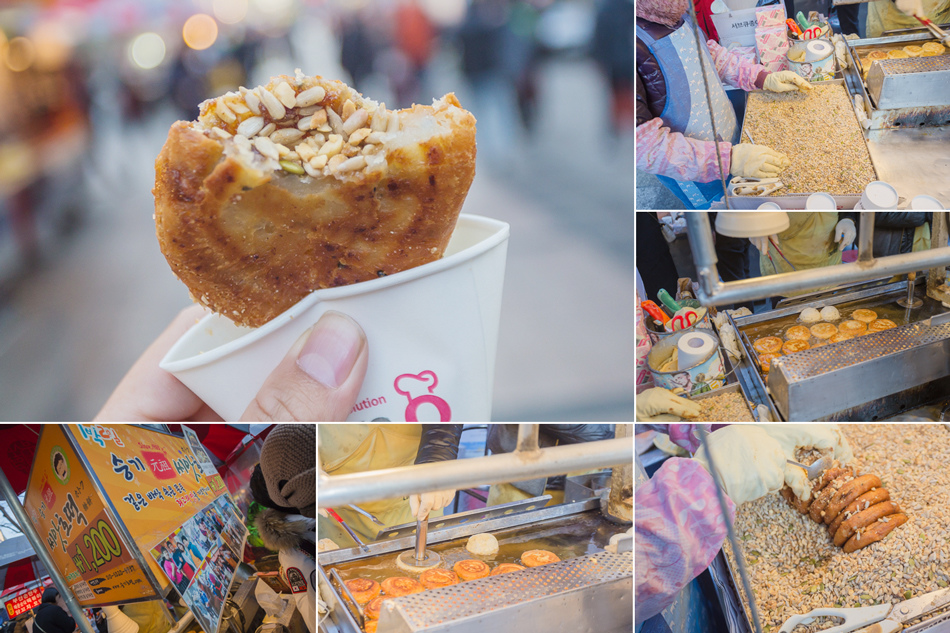 2016韓國五天四夜自由行 - 坐地鐵遊釜山之札嘎其站 x 逛BIFF廣場吃堅果黑糖餅