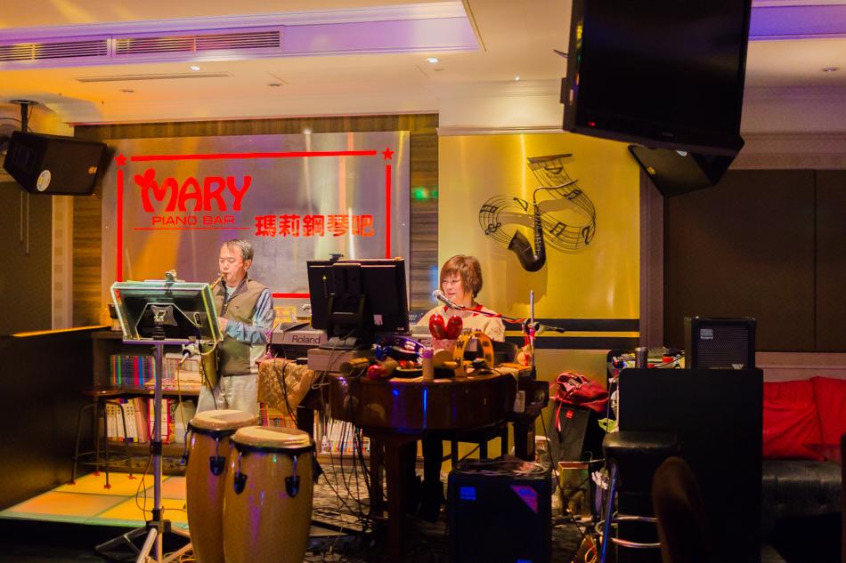 台中旅遊 - 瑪莉鋼琴酒吧