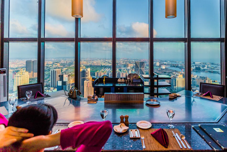 君鴻國際酒店-鐵板燒餐廳