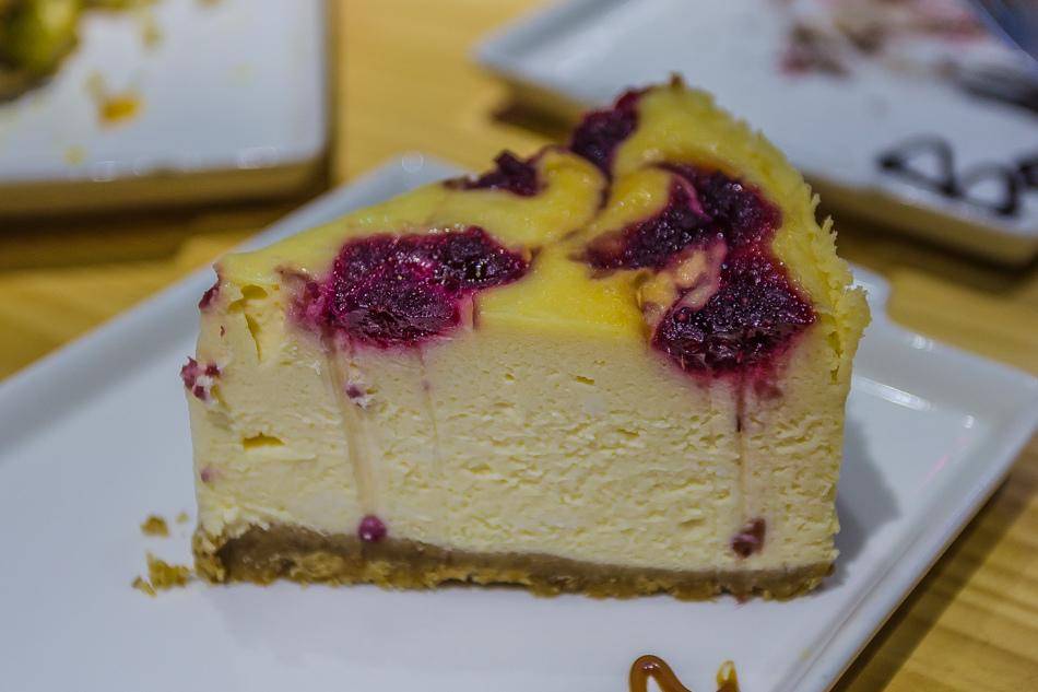 蔓越莓起司蛋糕110元