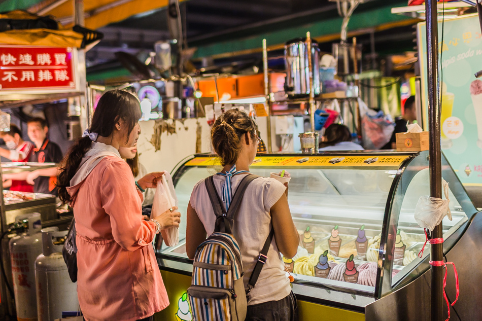 瑞豐夜市 - 咔啾手工義式冰淇淋