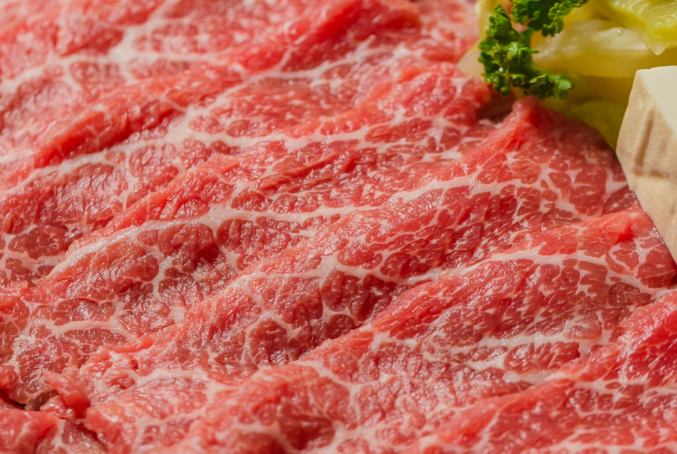 手切霜降牛肉