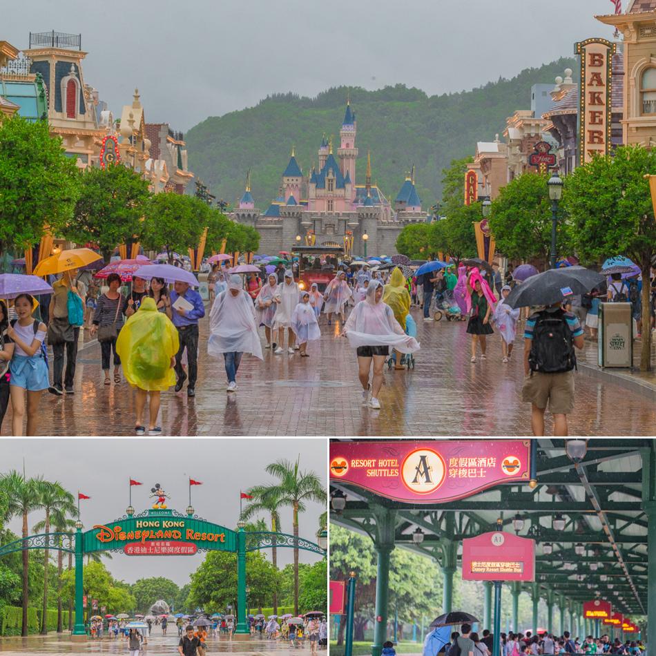 香港2016年三天兩夜之旅    迪士尼樂園