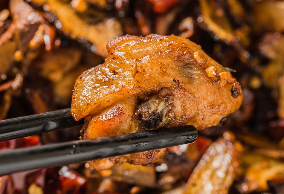 高雄美食 蓬萊居台菜料理酒家菜下酒菜酒味椒香雞(220元)