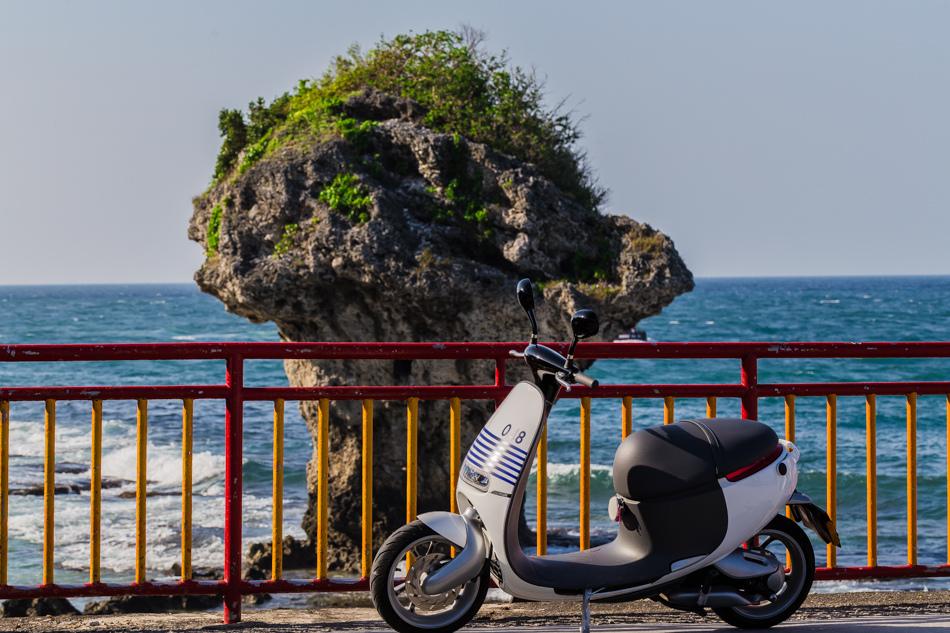 屏東旅遊-騎gogoro暢遊小琉球