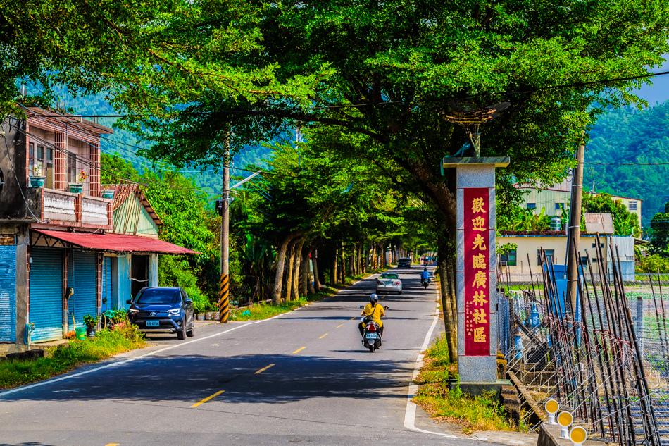 廣林社區騎單車