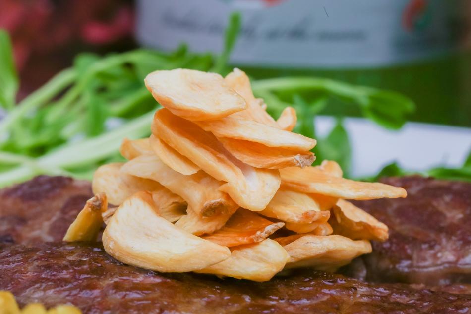 網購美食 - 蝦蝦叫黃金蒜片