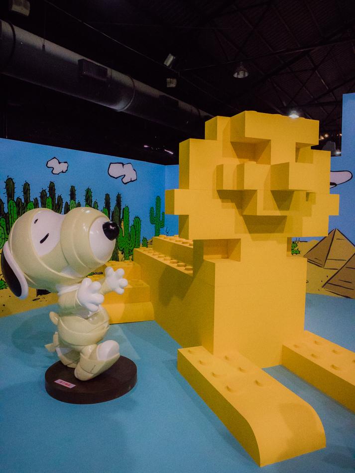 高雄展覽 - 史努比快樂上學趣巡迴特展