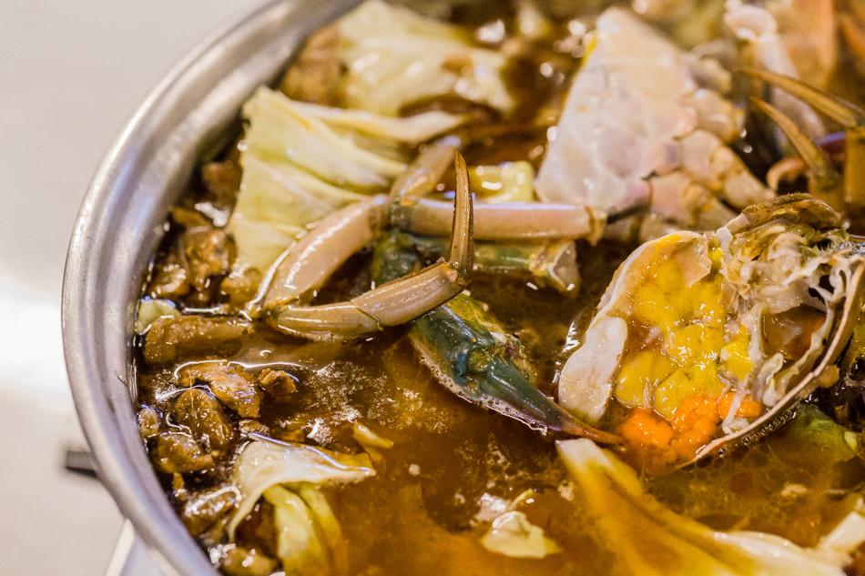 傳螃蟹薑母鴨