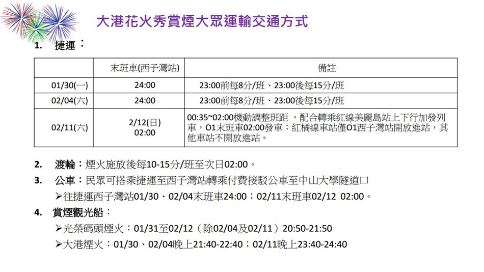 2017-高雄燈會藝術節-大港花火秀懶人包