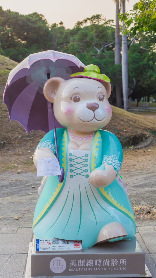超可愛百隻泰迪熊來高雄囉