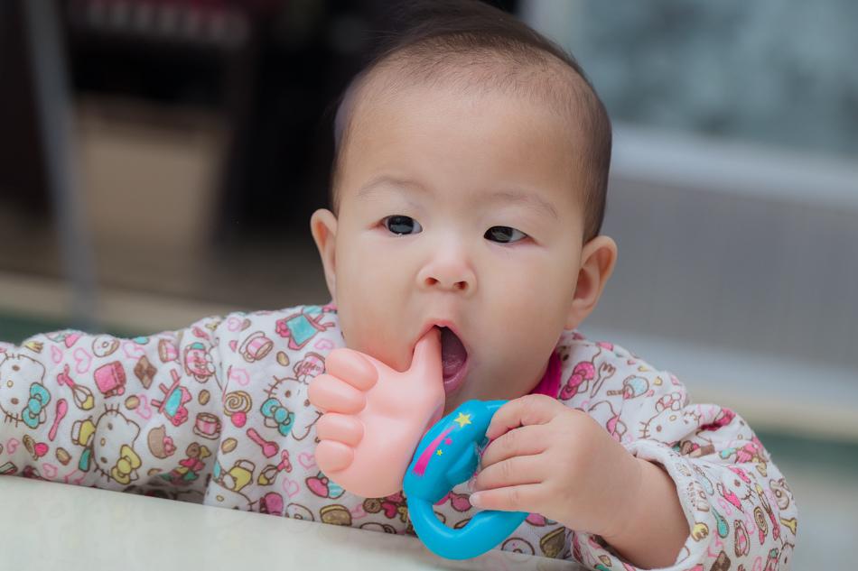 【日本People】寶寶的飯匙咬舔玩具