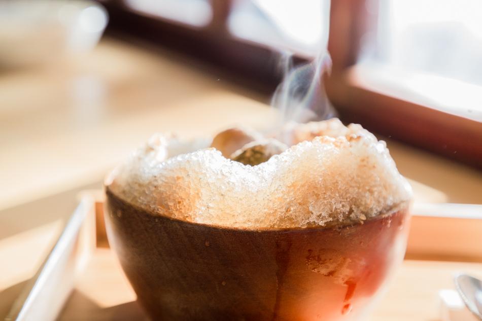 台中美食 - 波屋 | 冰品 烤糰子 鬆餅
