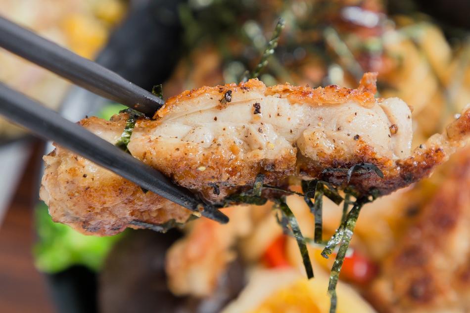 高雄美食 - 歐內醬鐵板燒定食