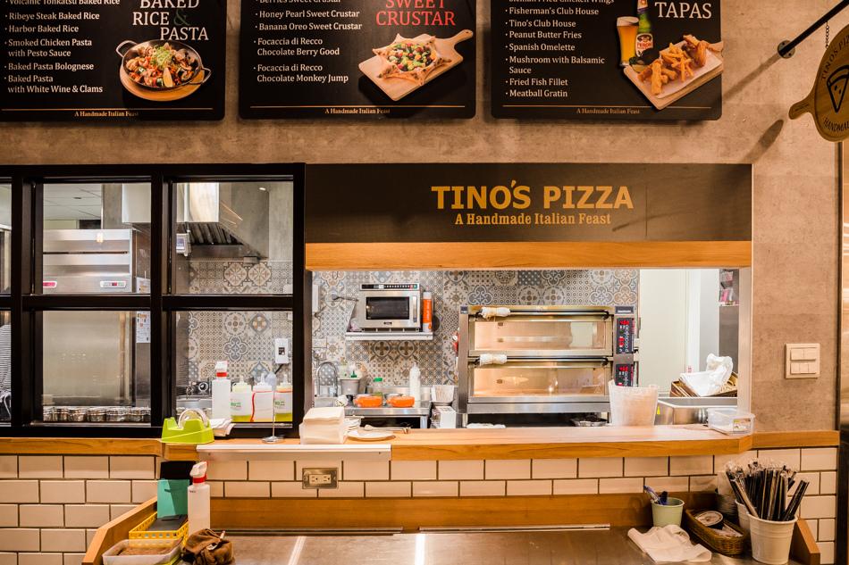 Tino's Pizza Cafe 堤諾義式比薩高雄河堤店