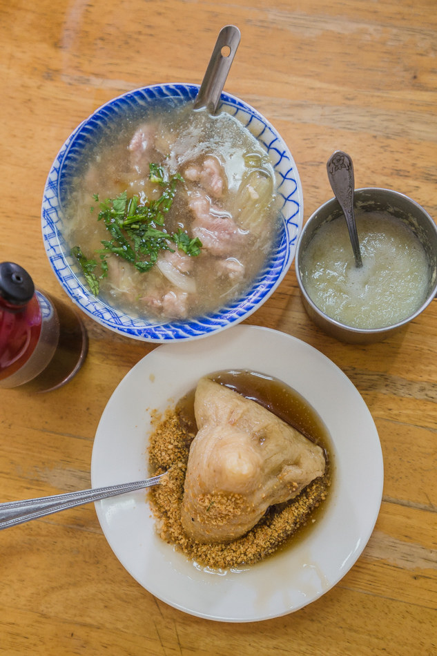 高雄美食 - 鳳山賢 土魠魚羹 肉粽