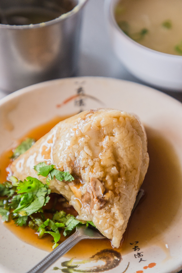 高雄美食 - 台南蔡肉粽
