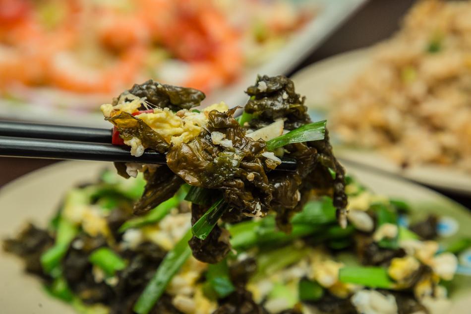 小琉球美食 - 大頭山海產