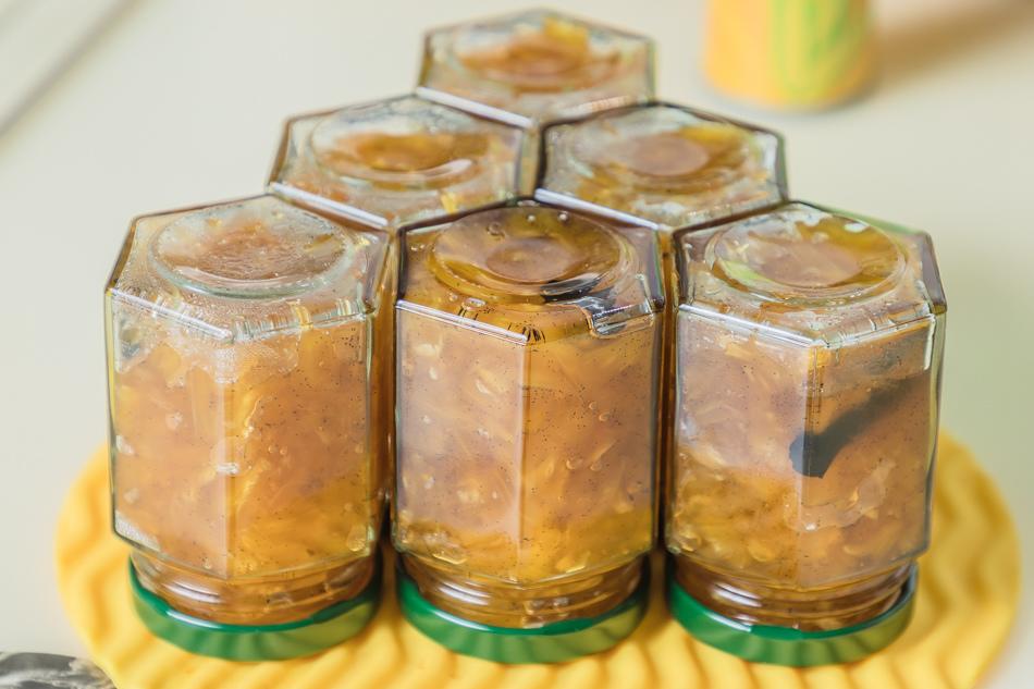 蘭姆香草鳳梨果醬食譜