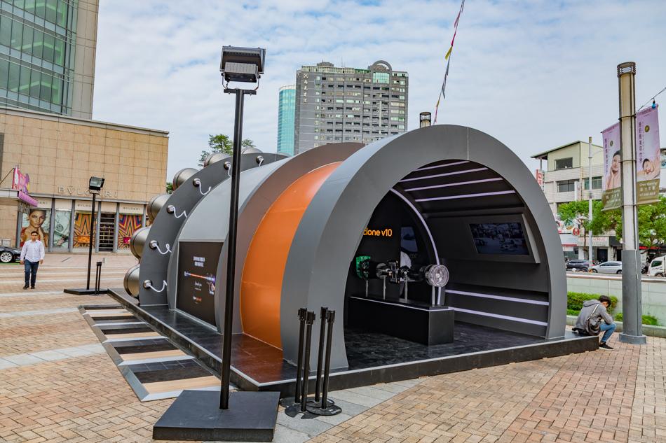 dyson cyclone V10 科技博物館-高雄漢神巨蛋