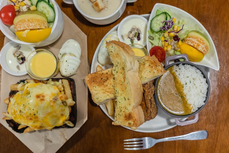 岡山美食 6吋盤早午餐