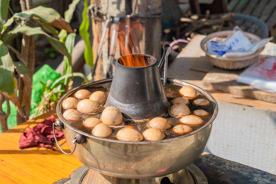 台南美食 - 漁光島無名碳燒茶葉蛋