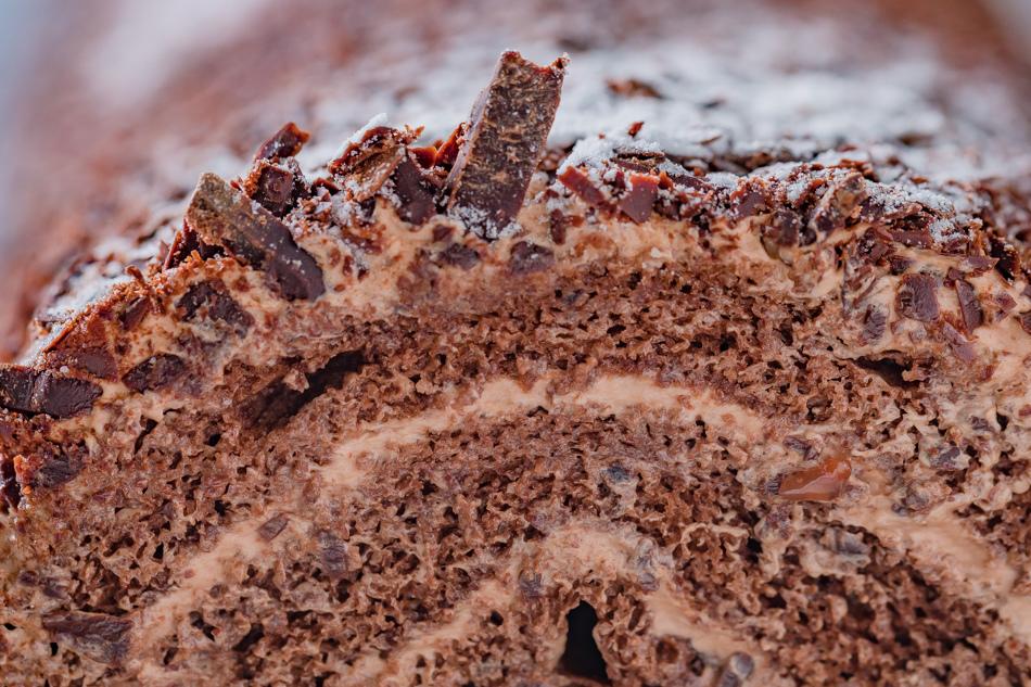 黑森林莓果蛋糕捲