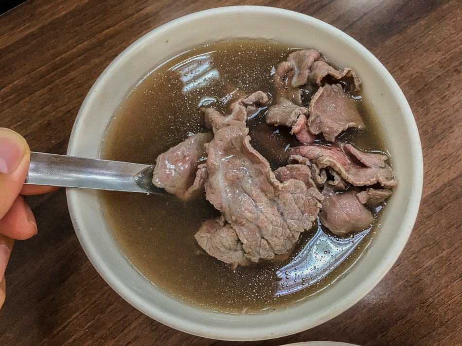 台南美食 - 阿助牛肉湯