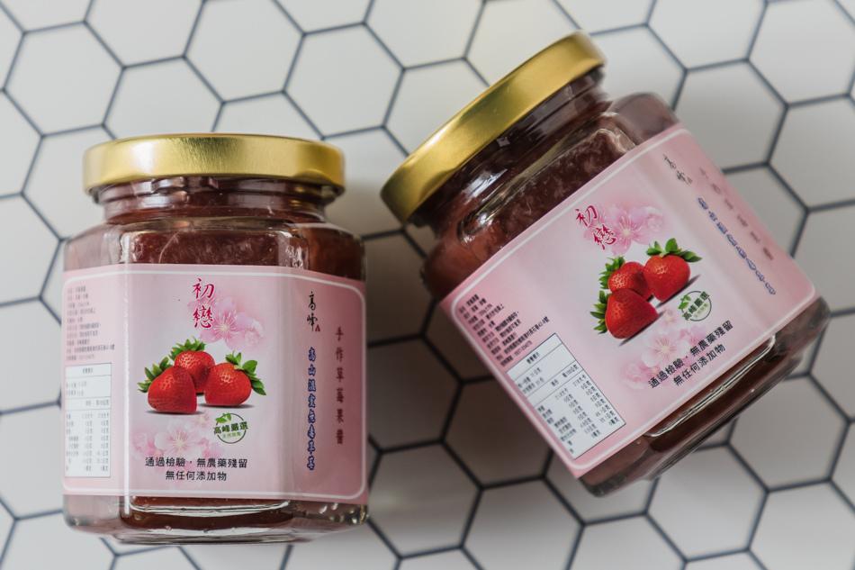 高峰農場草莓果醬